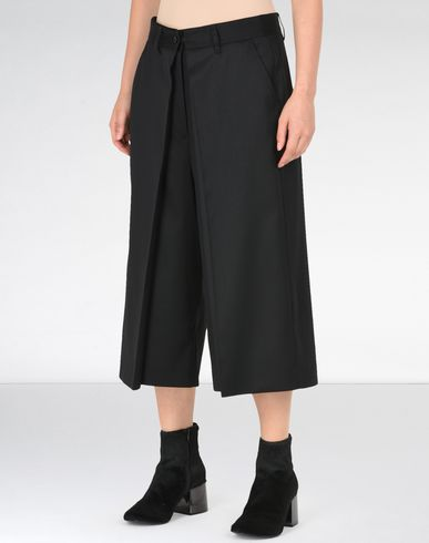 MM6 by MAISON MARGIELA Shorts D Wide leg twill culottes f
