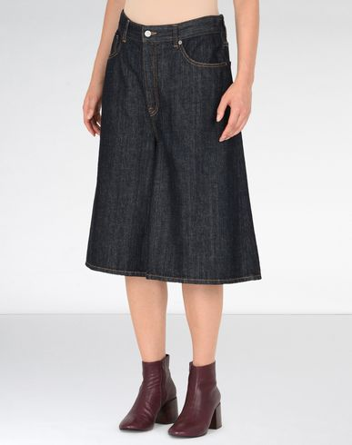 MM6 by MAISON MARGIELA Shorts D Denim culottes f
