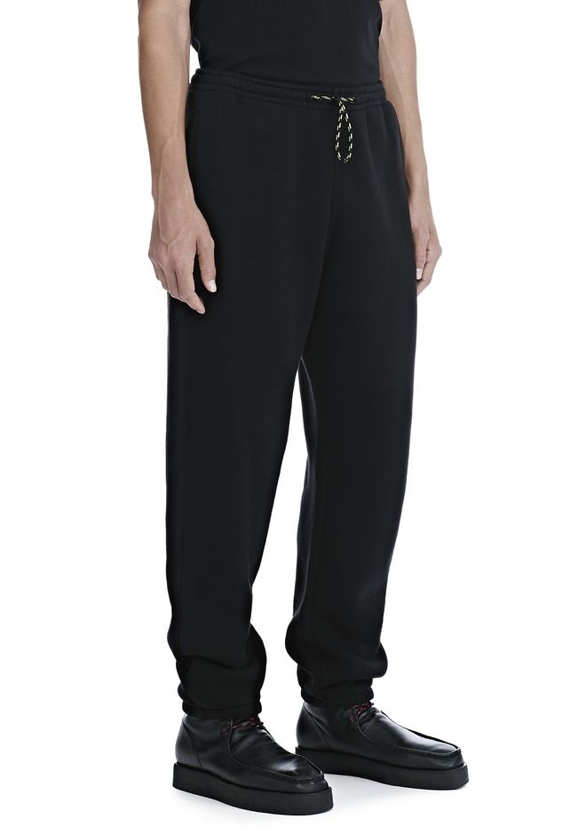ALEXANDER WANG PANTS Men DENSE FLEECE SWEATPANTS