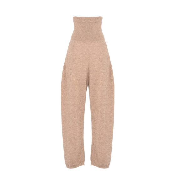 Camel Knit Trousers