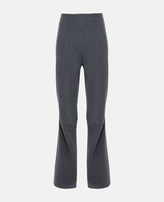 Knit Grey Trousers