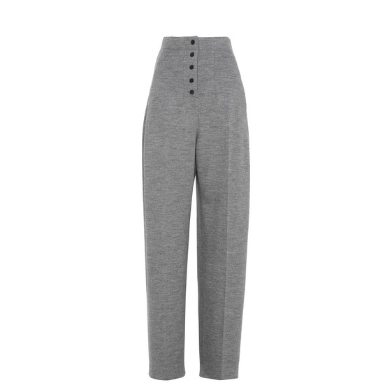 Fabienne Grey Tailored Trousers