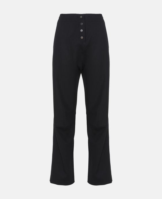 Gaia Black Tailored Trousers