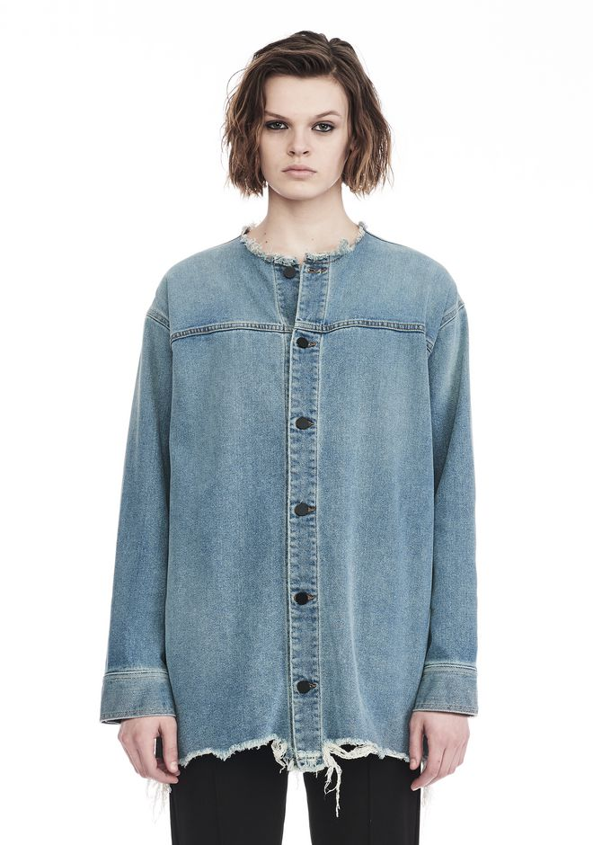 ALEXANDER WANG denim-x-aw HAZE JACKET