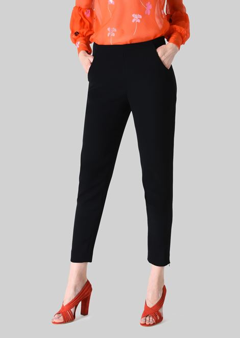CLASSIC SILK CADY SWEATPANTS