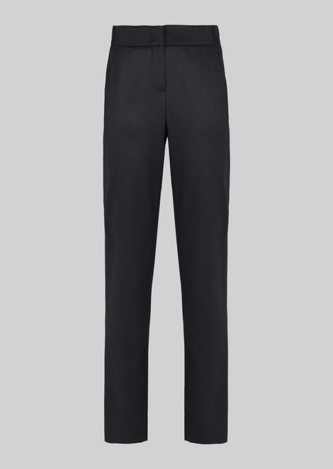 CLASSIC STRETCH WOOL TROUSERS