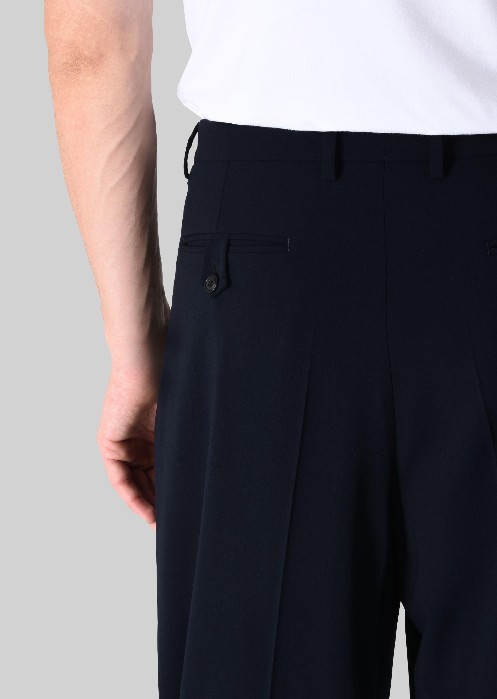 GIORGIO ARMANI PANTALONI CLASSICI IN TELA DI LANA STRETCH Pantaloni Casual U a