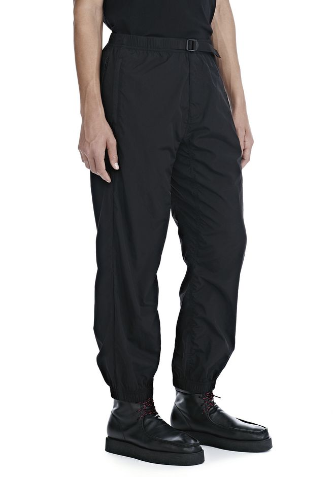 ALEXANDER WANG PANTS Men WASHED NYLON TRACK PANTS