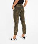 KARL LAGERFELD Gold Tuxedo Pants 8_d