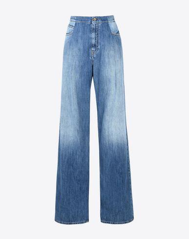 MAISON MARGIELA Oversized high waist jeans Jeans D f