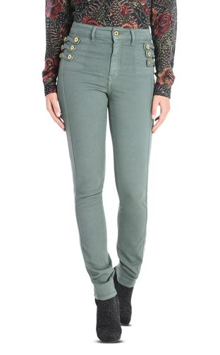 JUST CAVALLI Casual pants D Mid-rise, wide-leg trousers f