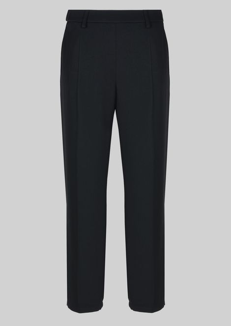 CLASSIC TROUSERS IN TECHNICAL FABRIC