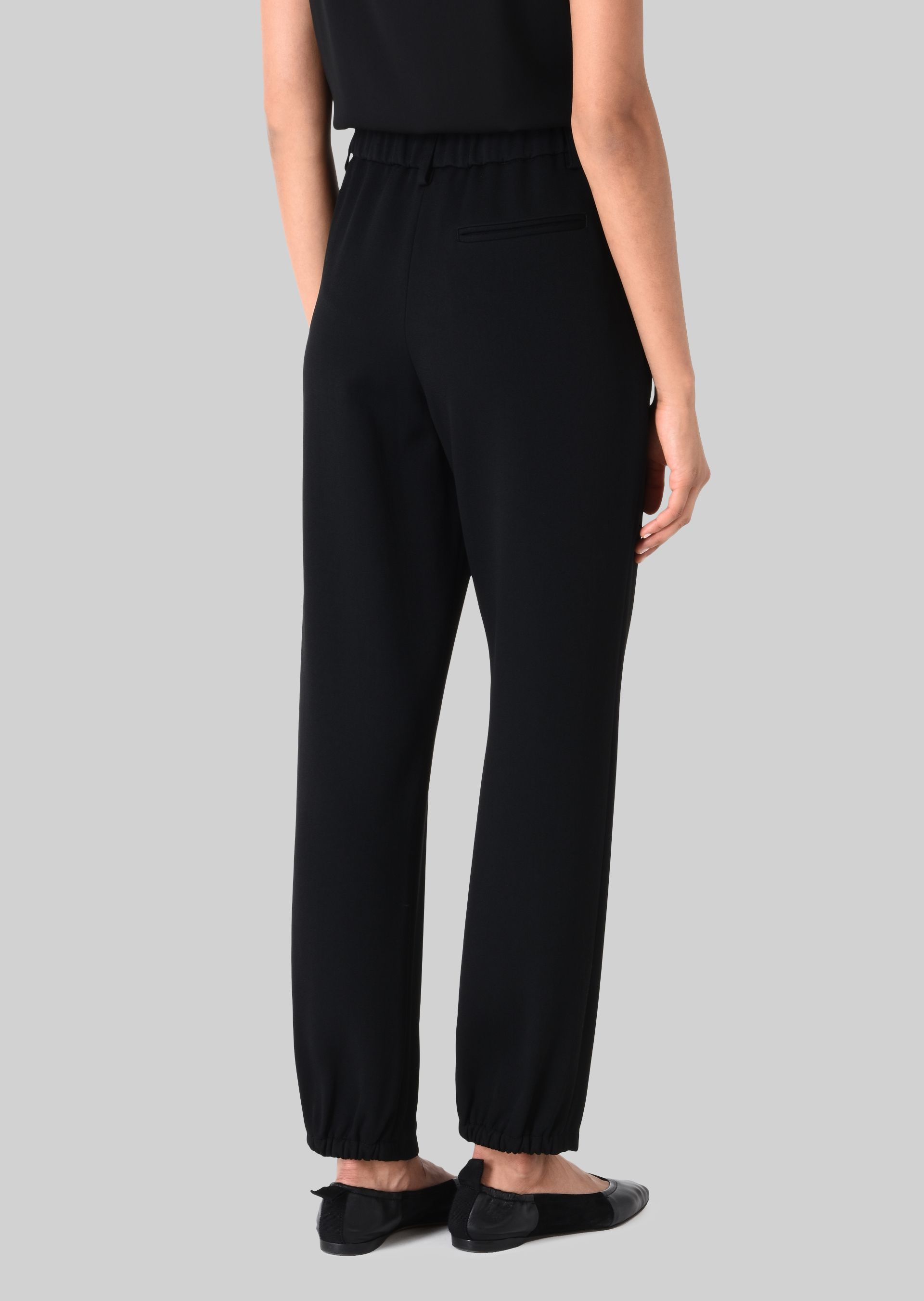GIORGIO ARMANI CLASSIC TROUSERS IN TECHNICAL FABRIC Pants D e