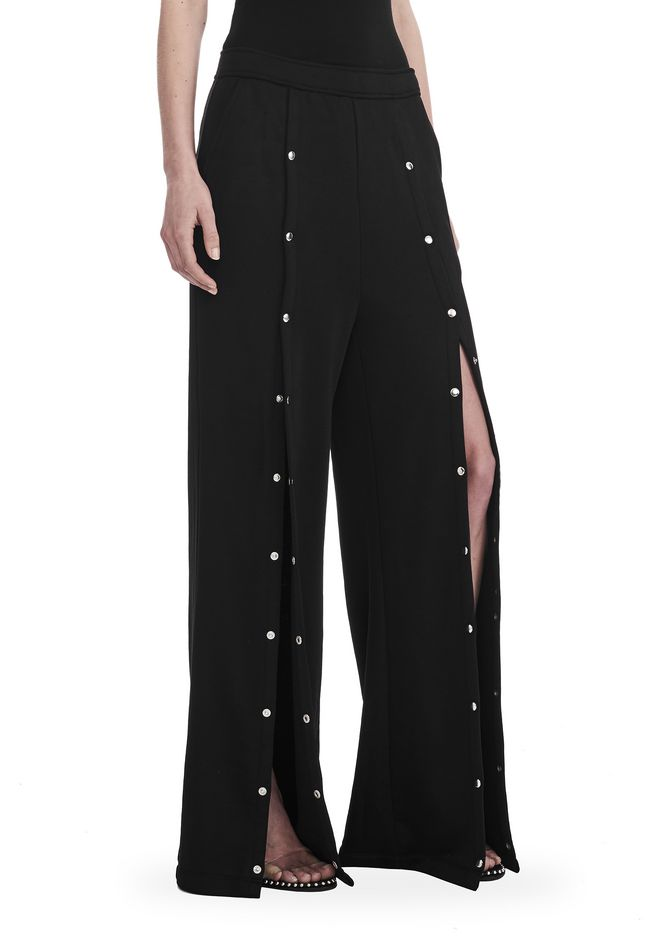 T by ALEXANDER WANG new-arrivals-t-by-alexander-wang-woman WIDE LEG PULL ON PANTS WITH SNAPS