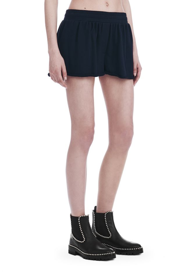 T by ALEXANDER WANG SHORTS Women SOFT FRENCH TERRY SHORTS