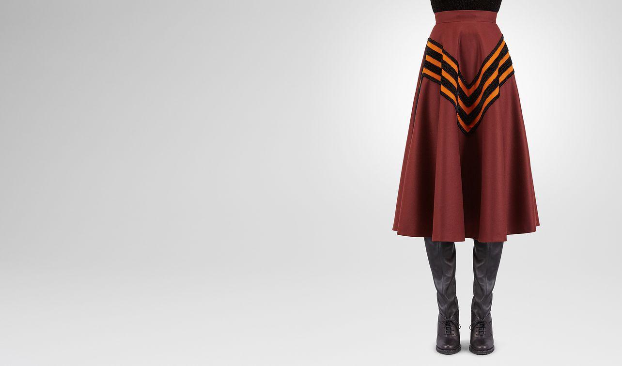 barolo wool skirt landing