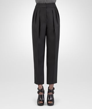 NERO SILK COTTON TWILL PANT
