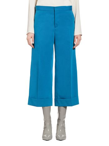 Marni Trousers in wool twil Woman