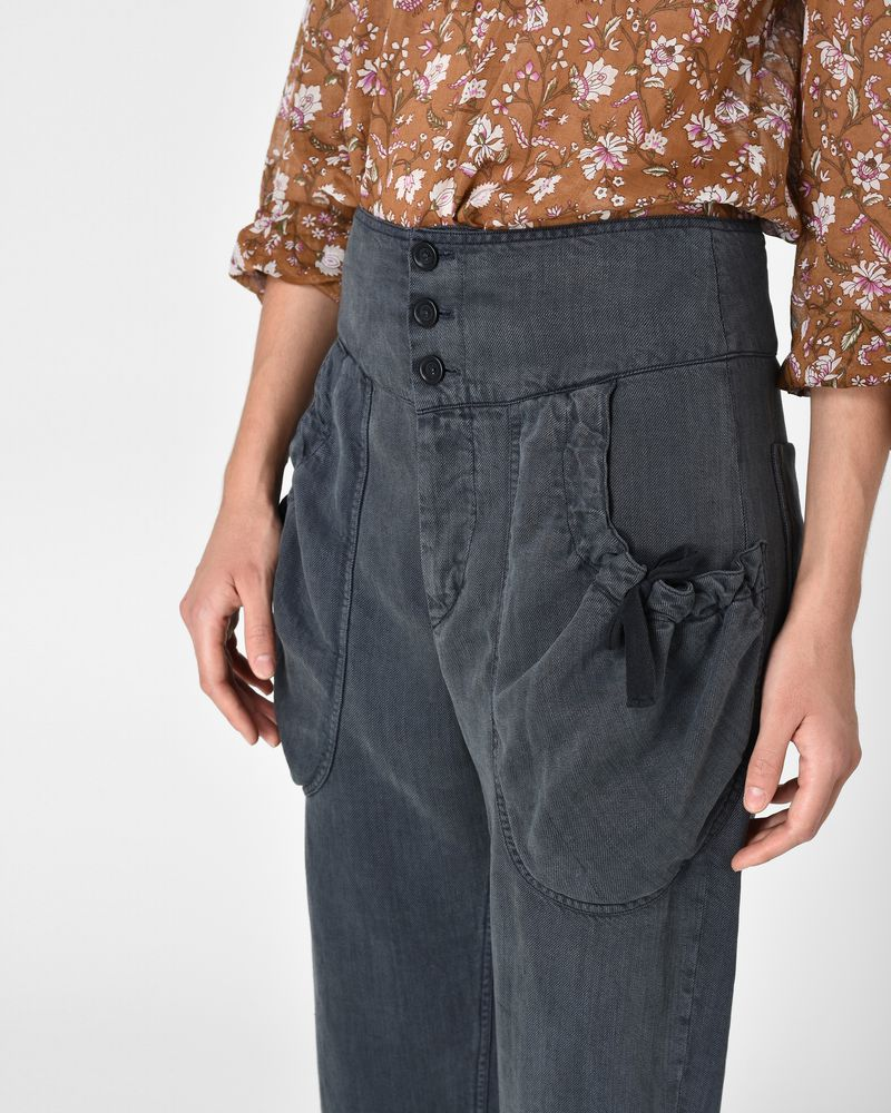 WEAVER fluid trousers ISABEL MARANT ÉTOILE