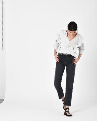 ISABEL MARANT ÉTOILE JEANS D COLAN straight jeans r