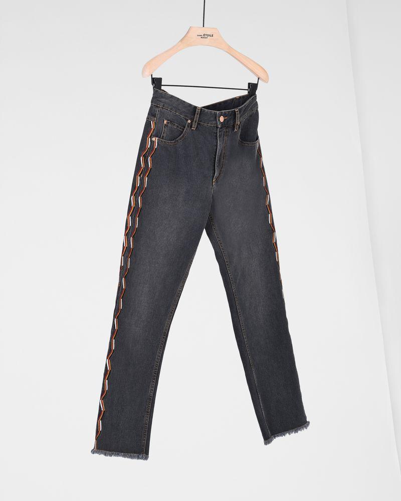 COLAN straight jeans ISABEL MARANT ÉTOILE
