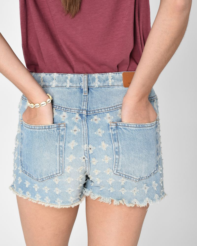 ... CELSA denim shorts ISABEL MARANT ÉTOILE ...
