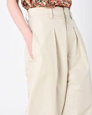 ISABEL MARANT PANT D HEXI wide leg pants r
