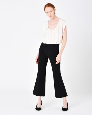 LYRE flared trousers