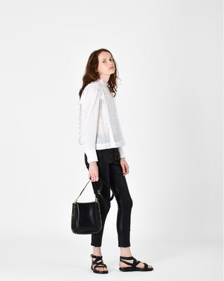 PRETLEY leather trousers