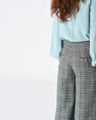 ISABEL MARANT TROUSER Woman TREVI Prince of Wales trousers r