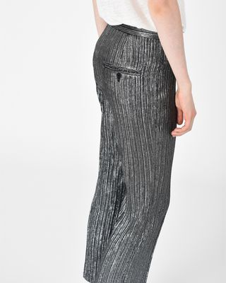 ISABEL MARANT TROUSER Woman DANSLEY lurex trousers r