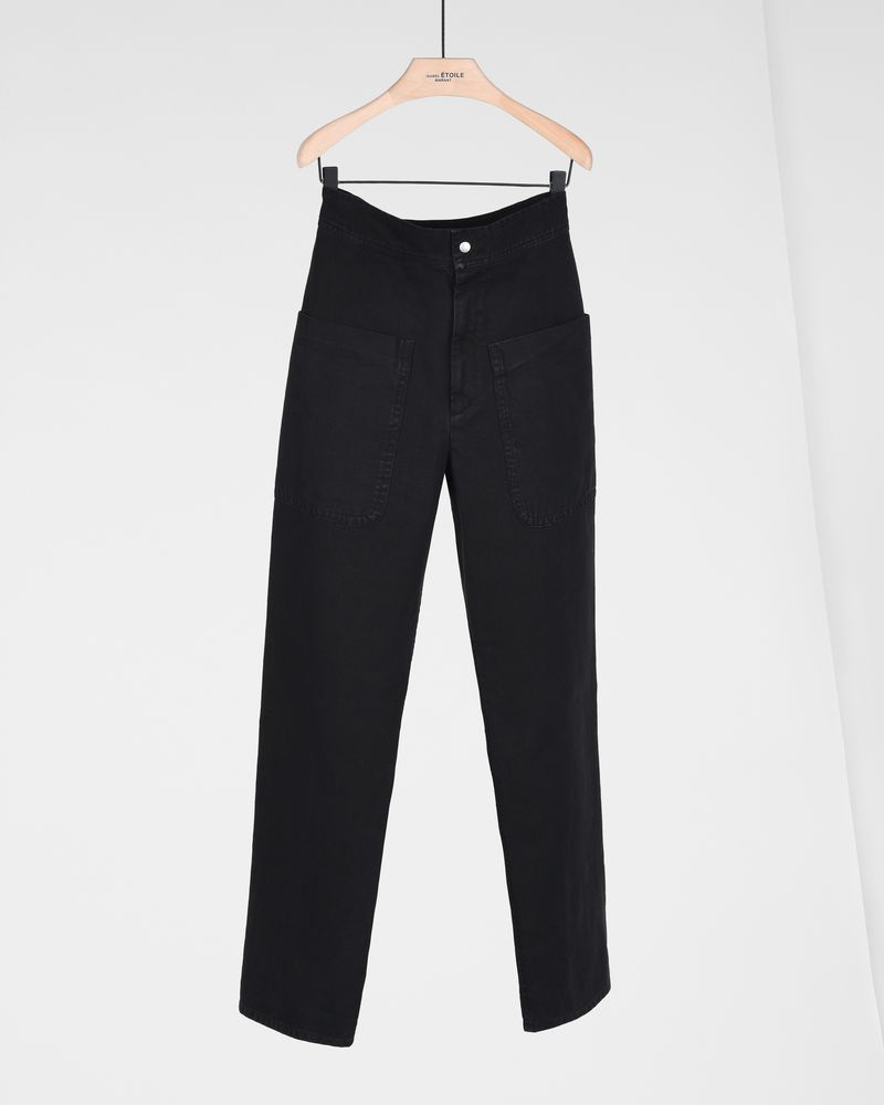 LANA cotton trousers ISABEL MARANT ÉTOILE