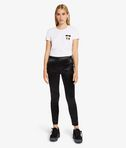 KARL LAGERFELD Karl Slim Fit Satin Trousers 8_f