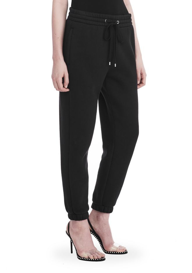 T by ALEXANDER WANG PANTS Women DENSE FLEECE SWEATPANTS