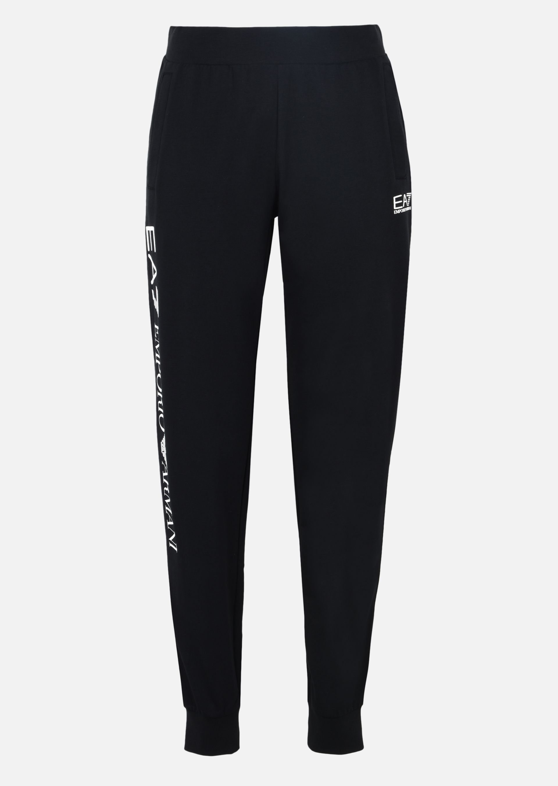 EMPORIO ARMANI Jogging trousers in stretch cotton Sweatpants D r