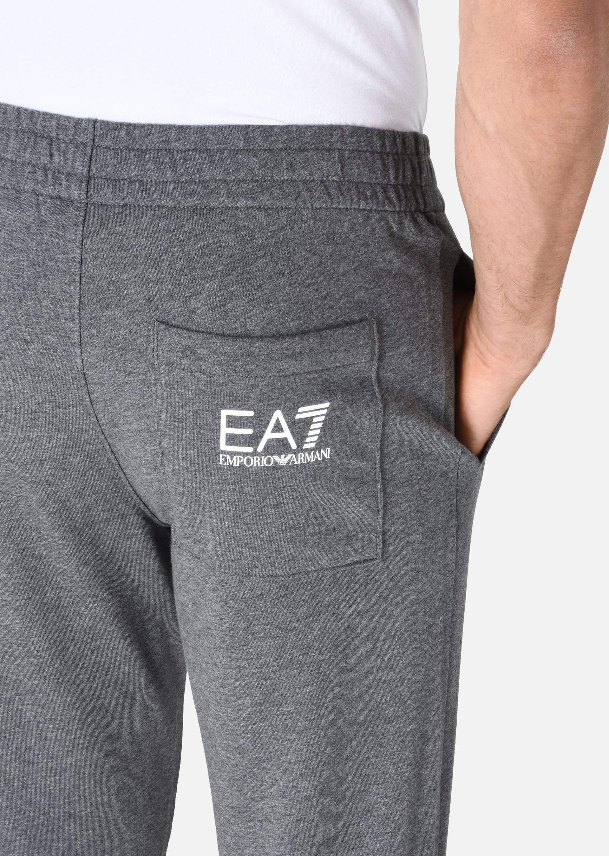 EMPORIO ARMANI PANTALONI IN COTONE Pantaloni in Felpa U a