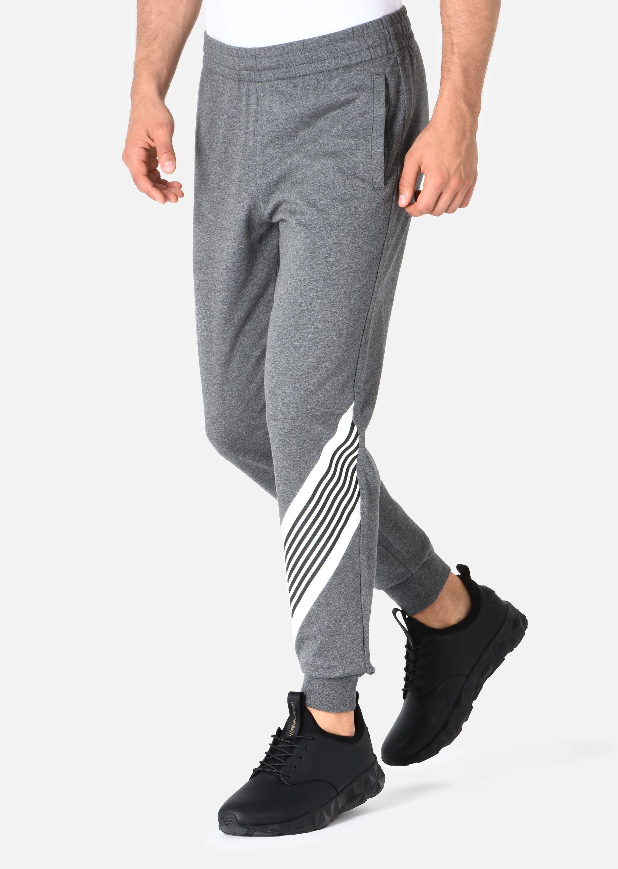 EMPORIO ARMANI PANTALONI IN COTONE Pantaloni in Felpa U d