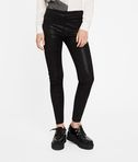 Sparkle Leather Leggings