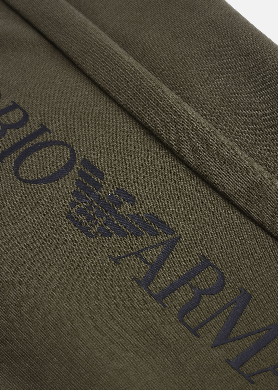 EMPORIO ARMANI PANTALONI IN COTONE Pantaloni in Felpa U b