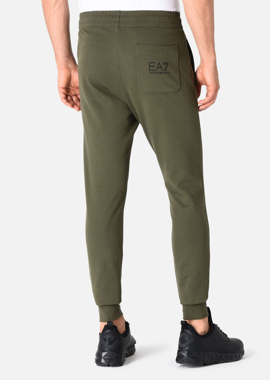 EMPORIO ARMANI PANTALONI IN COTONE Pantaloni in Felpa U e
