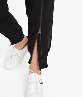 KARL LAGERFELD ZIPPED TRACK TROUSERS