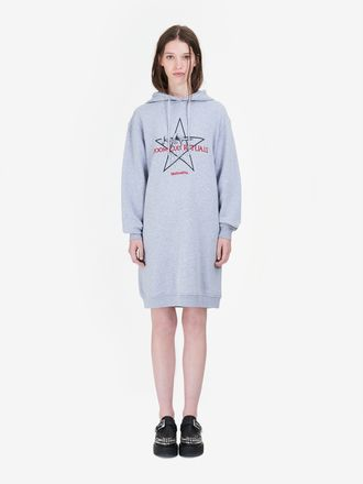 """Doom Cult Rituals"" Hoodie Dress"
