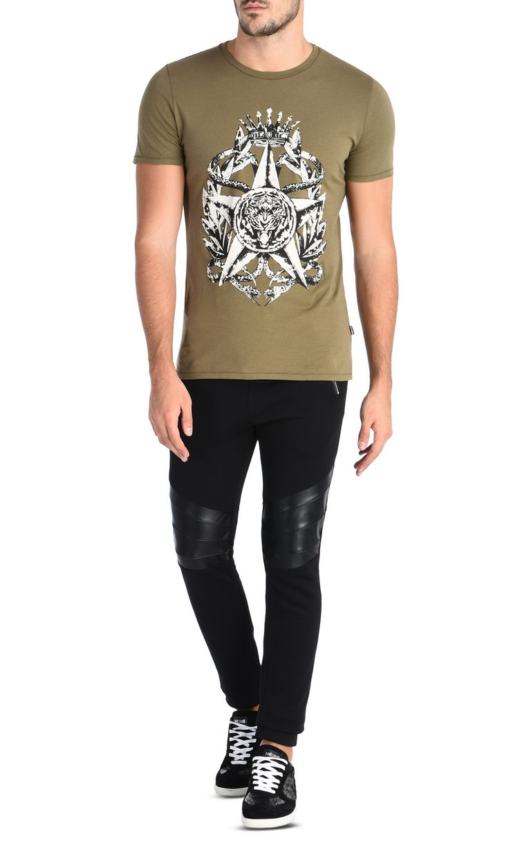 JUST CAVALLI Joggers with zip Casual pants Man r