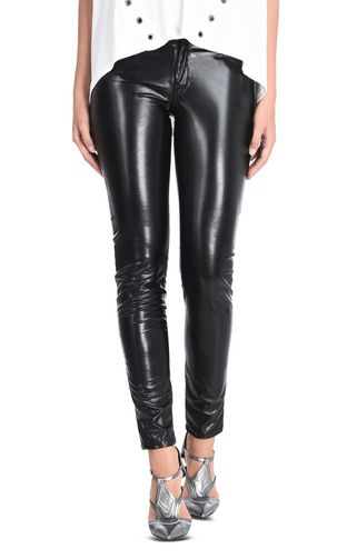 JUST CAVALLI Casual pants D Shiny trousers f