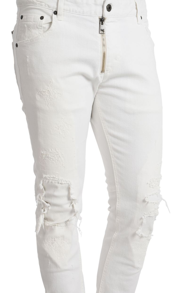 JUST CAVALLI Worn-effect jeans  Casual pants U e