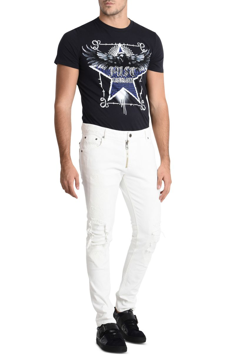 JUST CAVALLI Worn-effect jeans  Casual pants U r