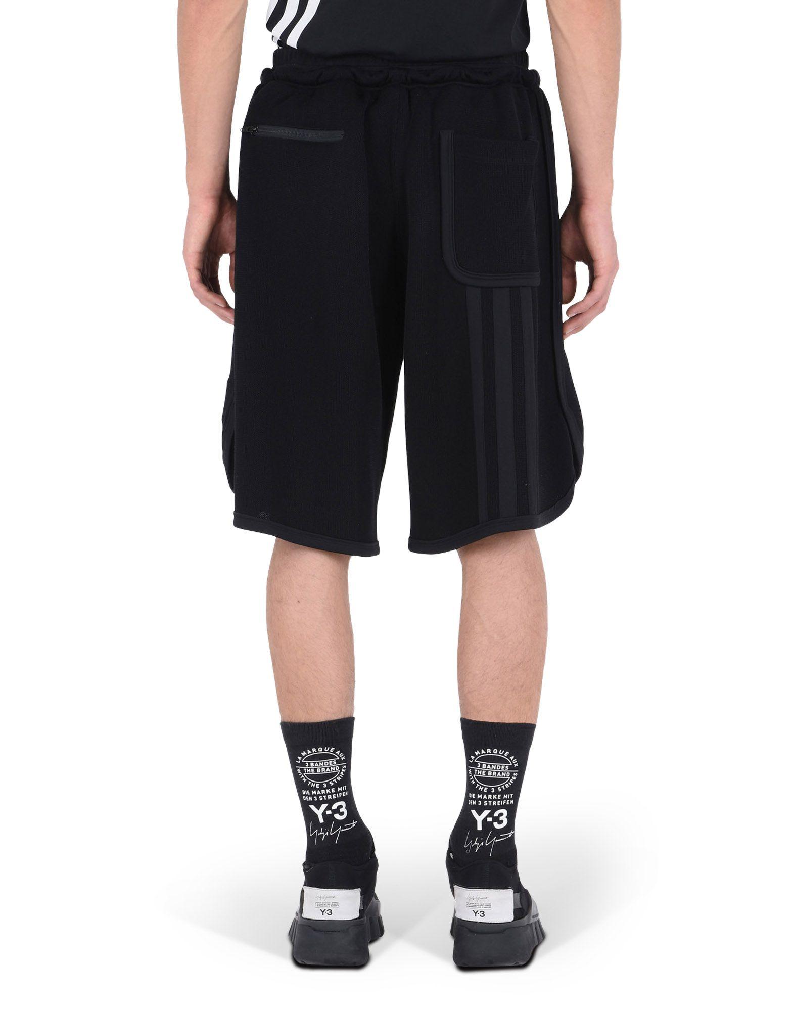 Y-3 Y-3 MESH 3-STRIPES SHORTS Shorts Man e