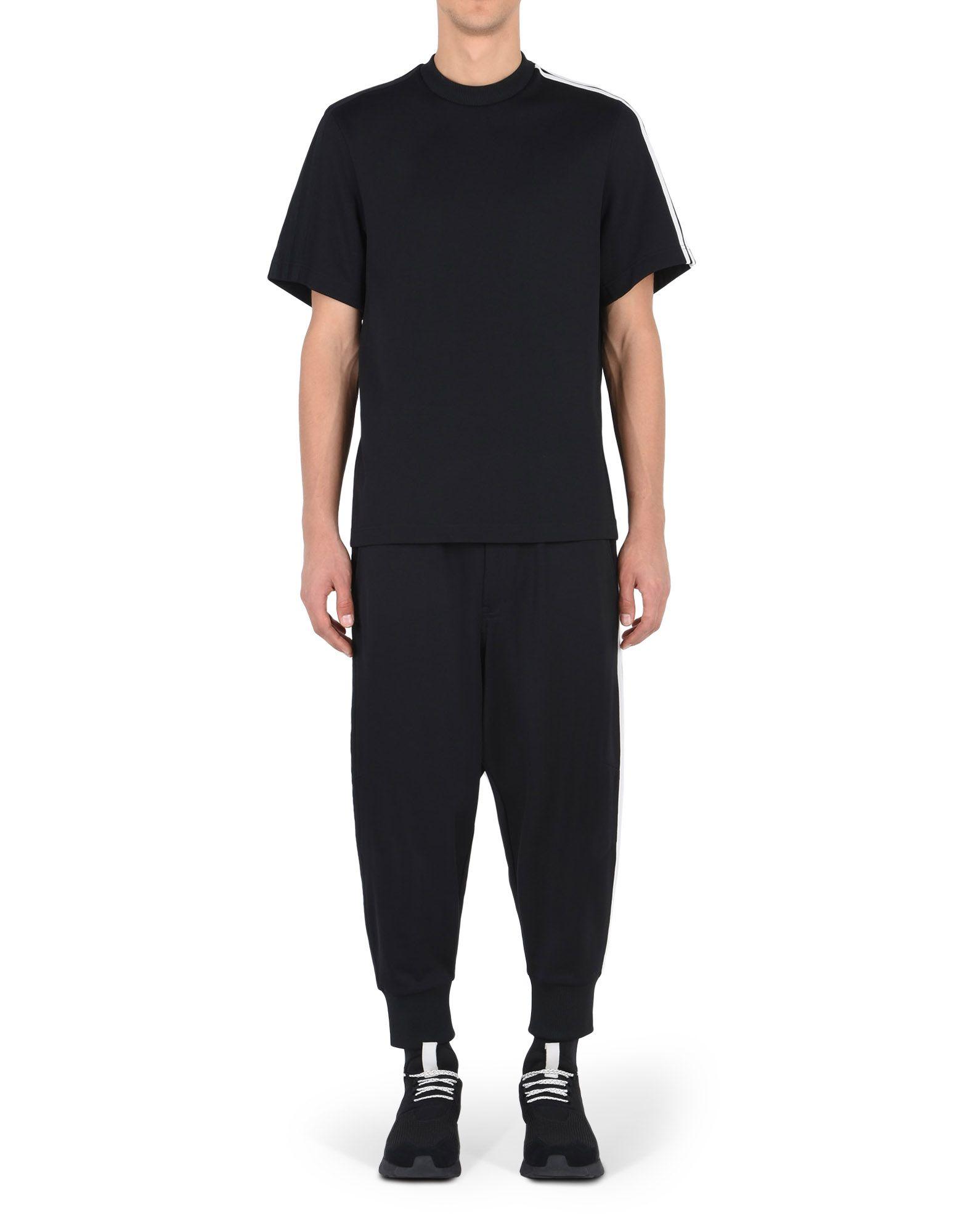 Y 3 3 Stripes track pants negro para hombres Adidas y 3 Tienda Oficial