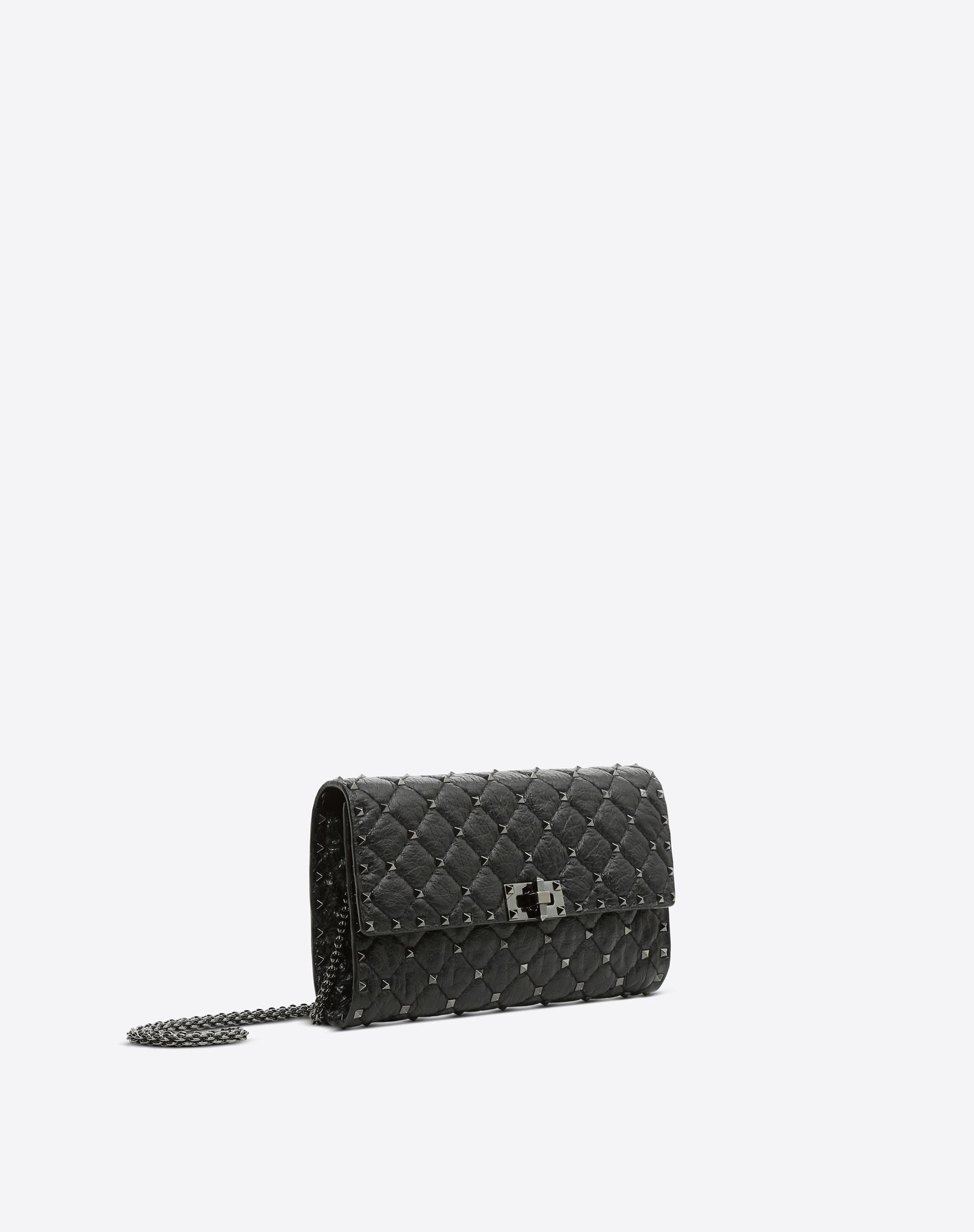 VALENTINO Rockstud Spike Chain Bag Shoulder bag D r