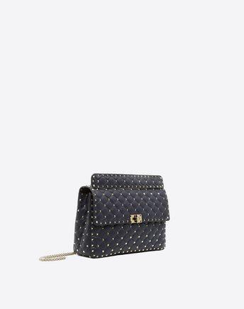 VALENTINO GARAVANI Shoulder bag D Small Rockstud Spike Chain Bag  r